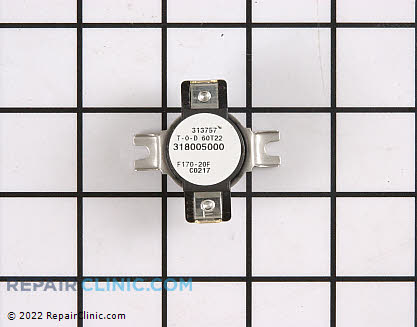 Cycling Thermostat (OEM)  318003606 - $47.05