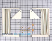 Curtain Installation Kit - Part # 823445 Mfg Part # 309313302