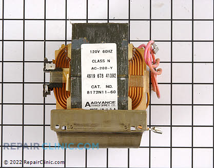 High Voltage Transformer 4375286 Main Product View