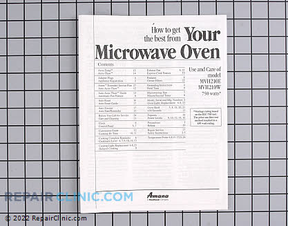 Owner's Manual (OEM)  C8940825