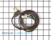 Power Cord - Part # 113418 Mfg Part # B8310509
