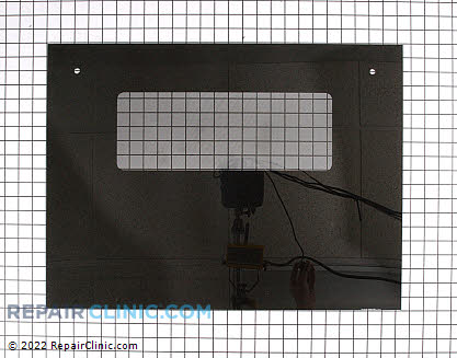 Oven Door Glass (OEM)  WB57K5220 - $67.75