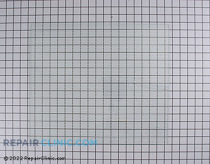 Glass Crisper Cover (OEM)  WR32X1046, 301546