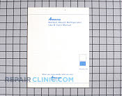 Owners manual - Part # 103707 Mfg Part # A1051807