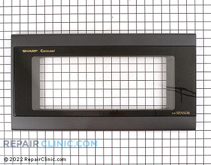 Microwave Oven Door (OEM)  FCOVB031MRK0