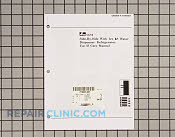 Owners manual (am sx - Part # 103823 Mfg Part # A1069201