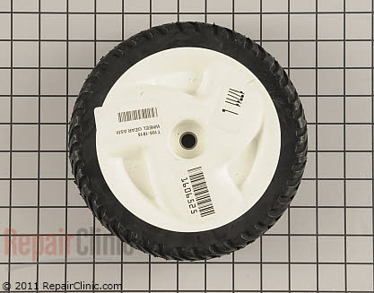 Lawn Mower Wheel Assembly with Gears