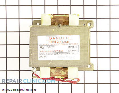 Electrolux Microwave High Voltage Transformer