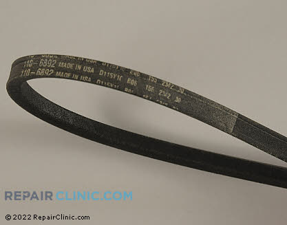 Belt: V-Belt, Toro Genuine OEM  110-6892, 1617216