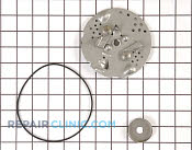 Shredding Plate - Part # 1184205 Mfg Part # 027C028S02