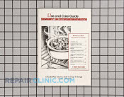 Use & care guide - Part # 191626 Mfg Part # LIT3188264