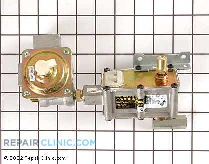 Oven Valve and Pressure Regulator (OEM)  WB19K10051