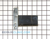Hinge recept oven left/broil right - Part # 1085530 Mfg Part # WB10X10040