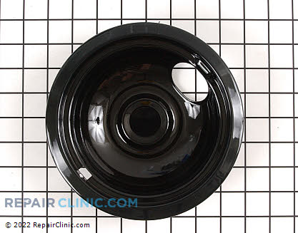 6 Inch Burner Drip Bowl (OEM)  WB32X5105, 258297