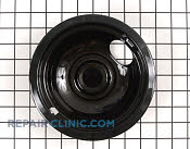 6 Inch Burner Drip Bowl - Part # 258297 Mfg Part # WB32X5105
