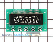User Control and Display Board - Part # 423365 Mfg Part # 166004