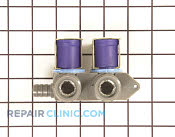 Valve water 115 v - Part # 1089332 Mfg Part # WH13X10020