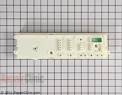 Frigidaire Dryer User Control and Display Board