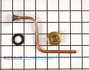 Tube inlet asm - Part # 218479 Mfg Part # RA95046-1