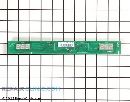 User Control and Display Board W10207861 Main Product View