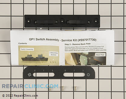 Range Vent Hood Switch Kits