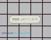 Nameplate (wht) - Part # 664007 Mfg Part # 61002062