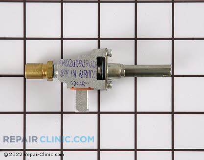 Surface Burner Valve (OEM)  WB21X519