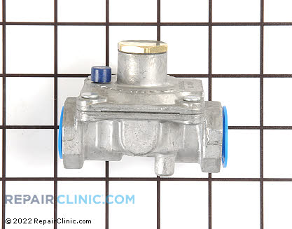 Admiral Stove Oven Valve and Pressure Regulator