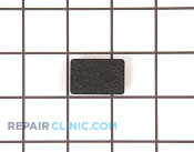 Plug button handle black - Part # 773057 Mfg Part # WR12X10136