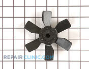 Fan Blade - Part # 1090818 Mfg Part # WP73X10009