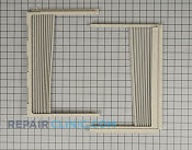 Window Side Curtain and Frame - Part # 1268594 Mfg Part # 3127AR3403A