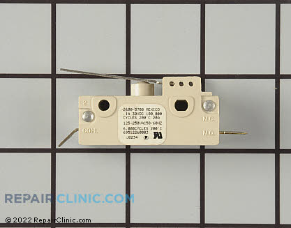 Tappan Door Latch Switch