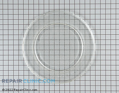 Glass Tray (OEM)  WB49X10135 - $46.40