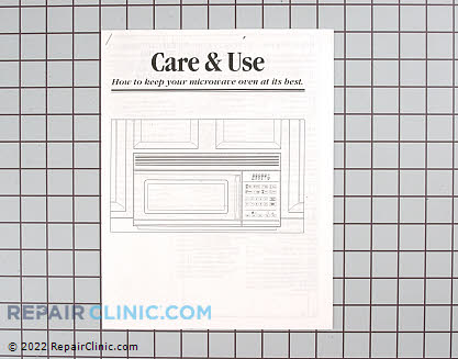 Manual, use &amp; care 49-8376         Main Product View