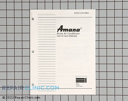 Owner's Manual RACOM06A Main Product View