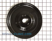 Burner Drip Bowl - Part # 1086763 Mfg Part # WB31K10124