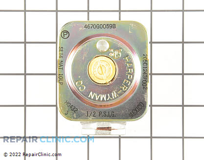 Pressure Regulator (OEM)  WB19K1, 247051