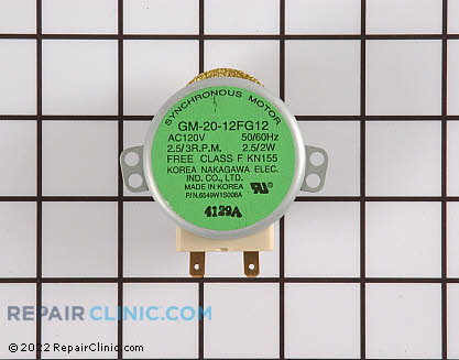 Turntable Motor (OEM)  WB26X10073 - $74.10