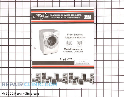 Whirlpool Whirlpool / Washing Machine Repair Manual