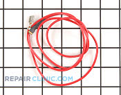 Wire assy, up limit switch, red - Part # 754510 Mfg Part # 14362