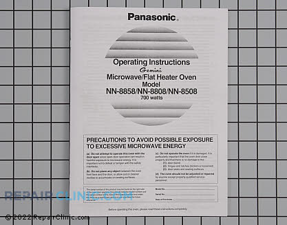Owner's Manual (OEM)  A00035020AQ - $7.98