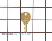 Door Key - Part # 445832 Mfg Part # 216362800