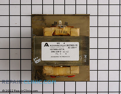 High Voltage Transformer 59001626 Main Product View