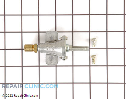 Gibson Burner Valve with Screws