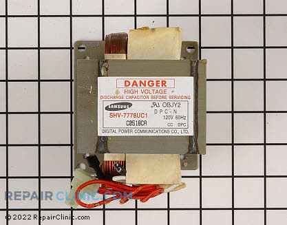 High Voltage Transformer (OEM)  WB27X10133