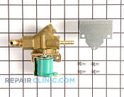 Water Inlet Valve - Part # 1019063 Mfg Part # 12-2907-21