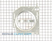 Fan housing asm - Part # 1477136 Mfg Part # WR17X12210