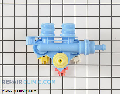 Water Inlet Valve (OEM)  W10156253