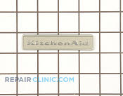 Nameplate - Part # 1182774 Mfg Part # W10046610