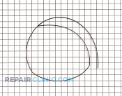 Gasket - Part # 1192253 Mfg Part # 5304454977